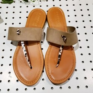 Rampage Memory Foam Flat sandals size 8.5